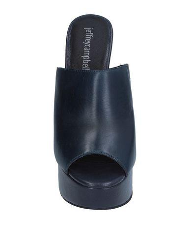 Фото 2 - Женские сандали JEFFREY CAMPBELL темно-синего цвета