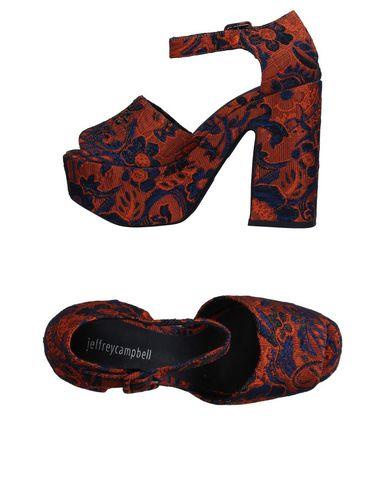 Фото - Женские сандали JEFFREY CAMPBELL оранжевого цвета