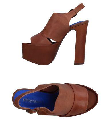 Фото - Женские сандали JEFFREY CAMPBELL коричневого цвета