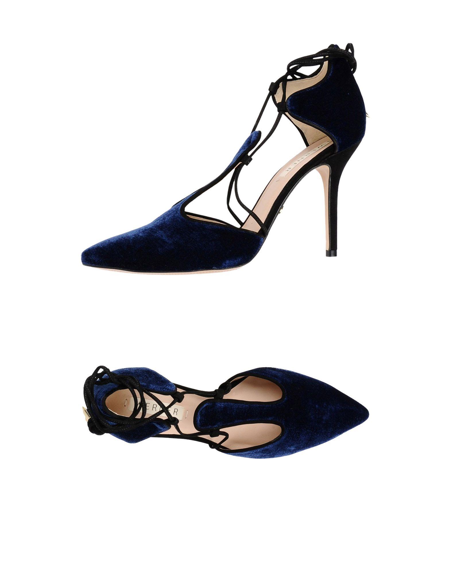 WERNER Туфли цены онлайн