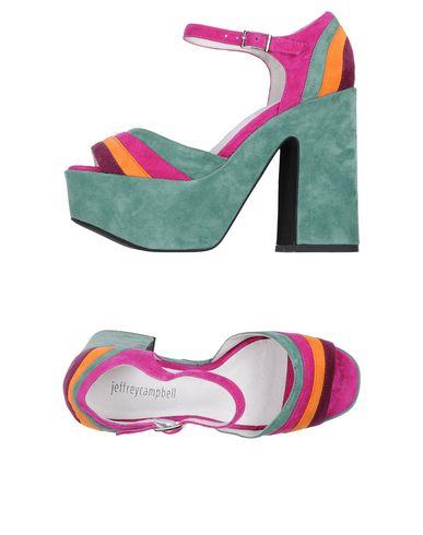 Фото - Женские сандали JEFFREY CAMPBELL зеленого цвета