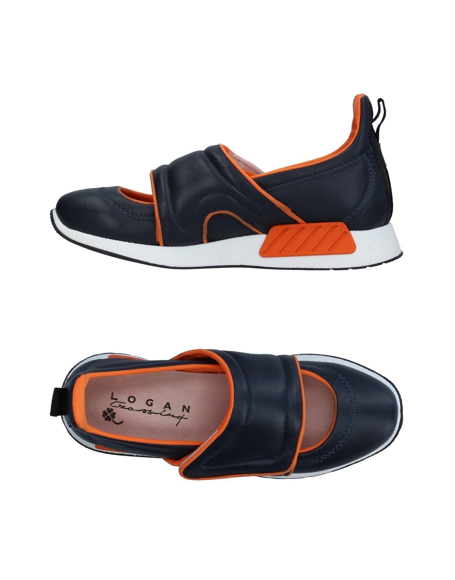 LOGAN CROSSING Низкие кеды и кроссовки кроссовки logan кроссовки