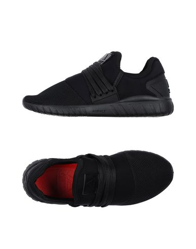 Купить Низкие кеды и кроссовки от ASFVLT черного цвета