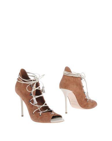 Купить Женские ботинки и полуботинки MALONE SOULIERS коричневого цвета
