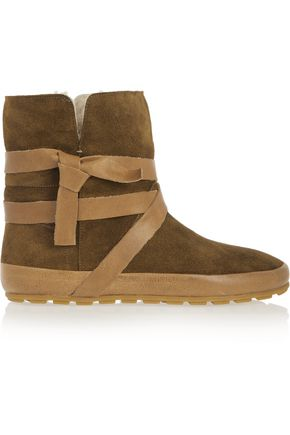 f01feb4402 Nygel leather and shearling ankle boots | ISABEL MARANT ÉTOILE ...