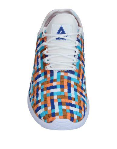Фото 2 - Низкие кеды и кроссовки от ASFVLT оранжевого цвета
