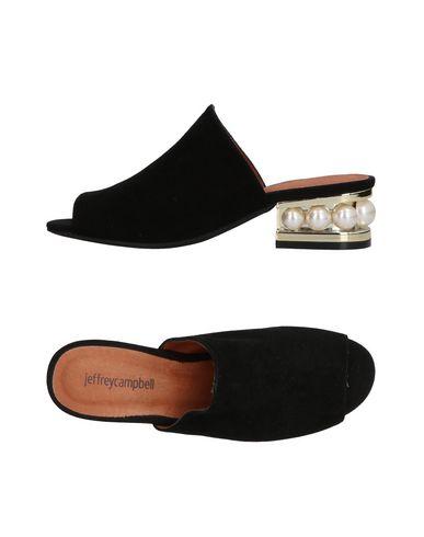 Фото - Женские сандали JEFFREY CAMPBELL черного цвета