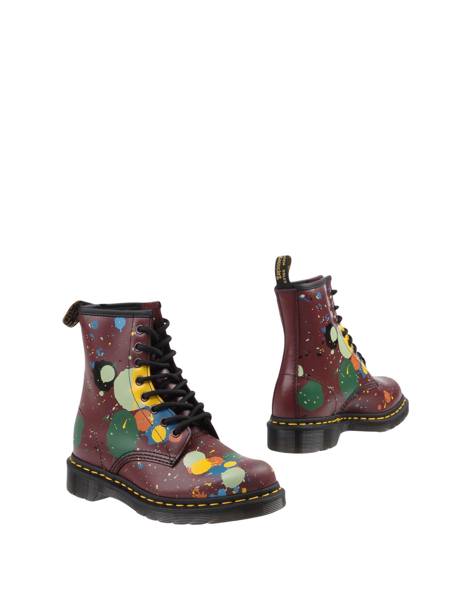 DR. MARTENS Полусапоги и высокие ботинки ботинки salamander salamander sa815amttz28