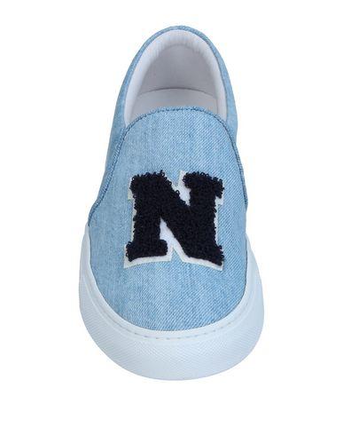 Фото 2 - Низкие кеды и кроссовки от JOSHUA*S небесно-голубого цвета