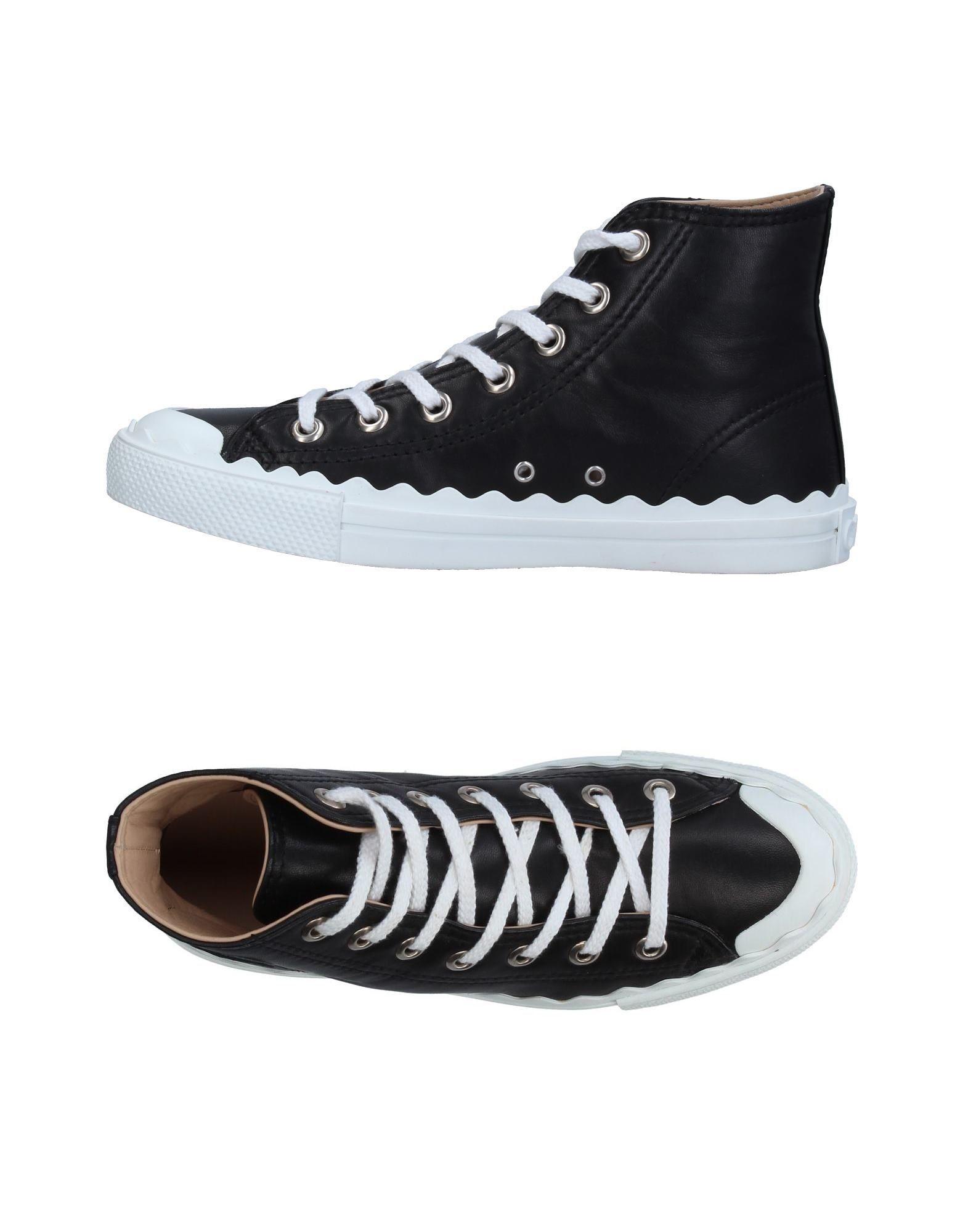 CHLOÉ Высокие кеды и кроссовки кеды кроссовки высокие dc council mid tx stone camo