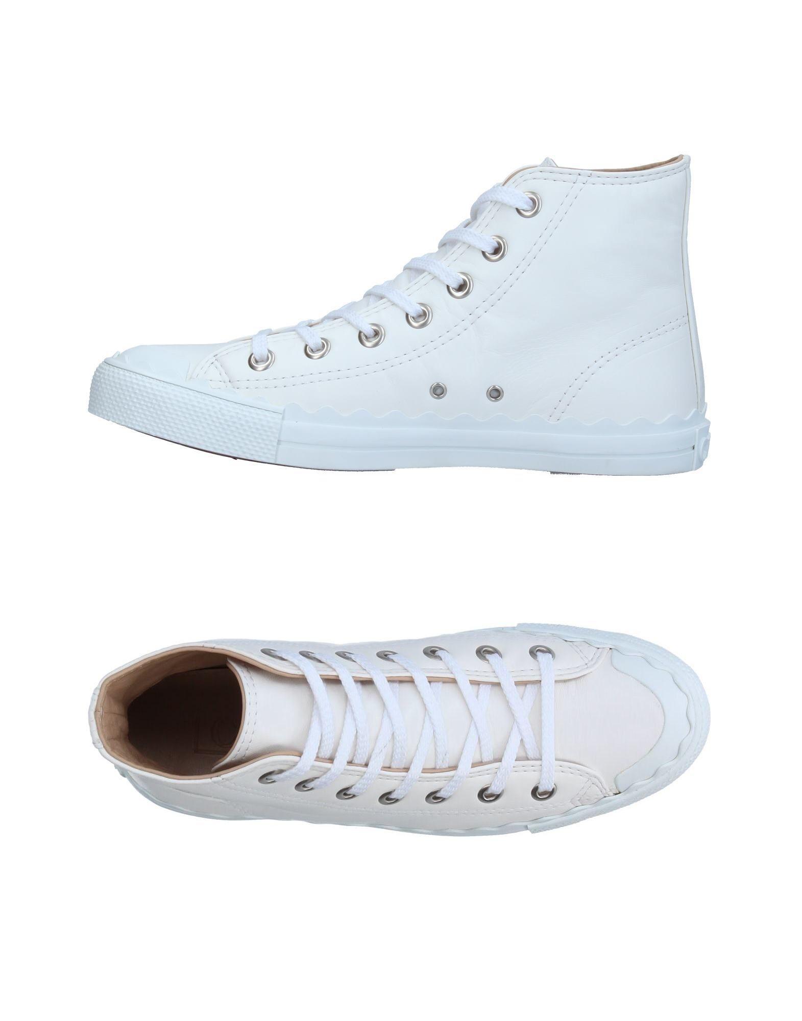 CHLOÉ Высокие кеды и кроссовки pierre hardy высокие кеды и кроссовки