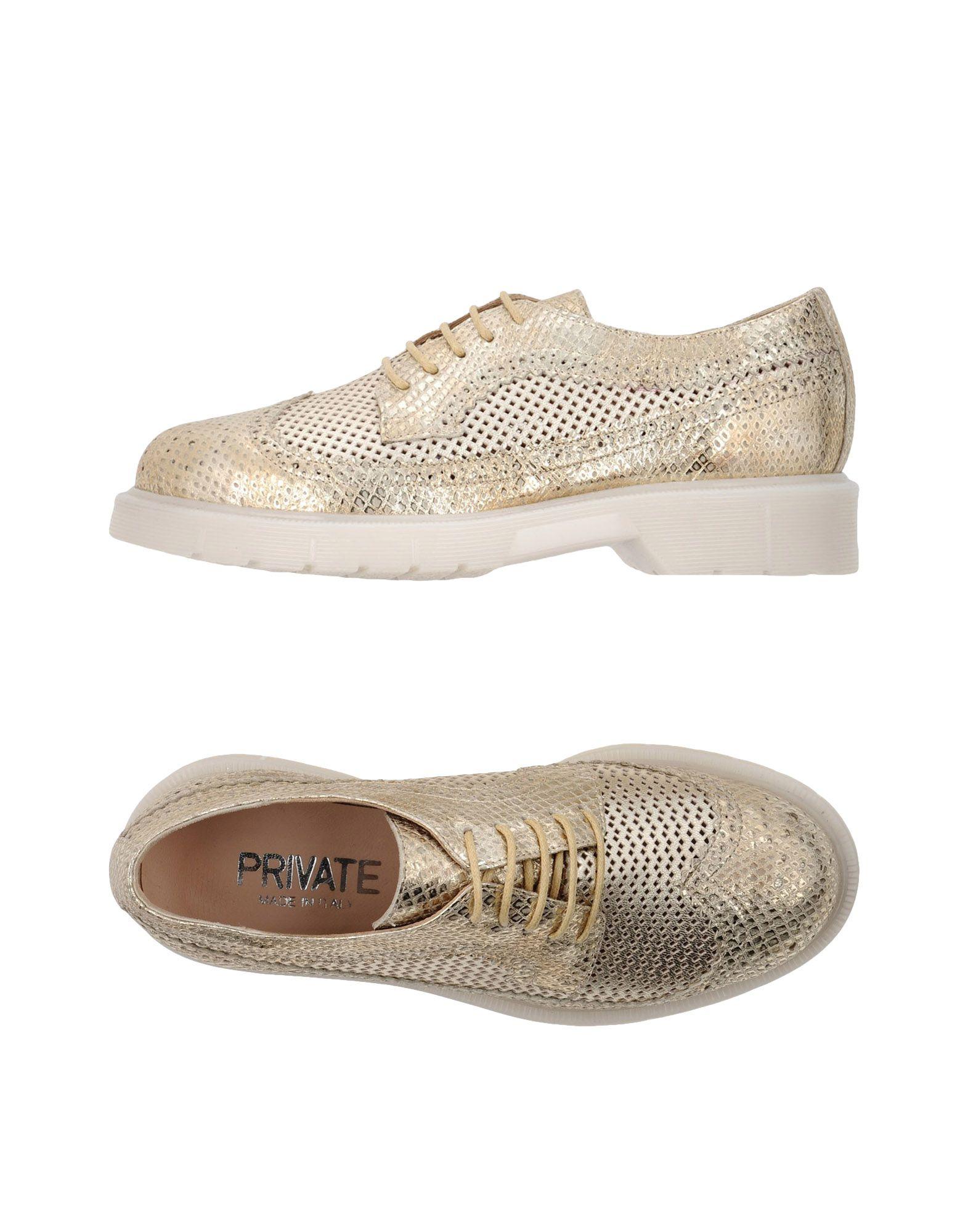 PRIVATE Обувь на шнурках