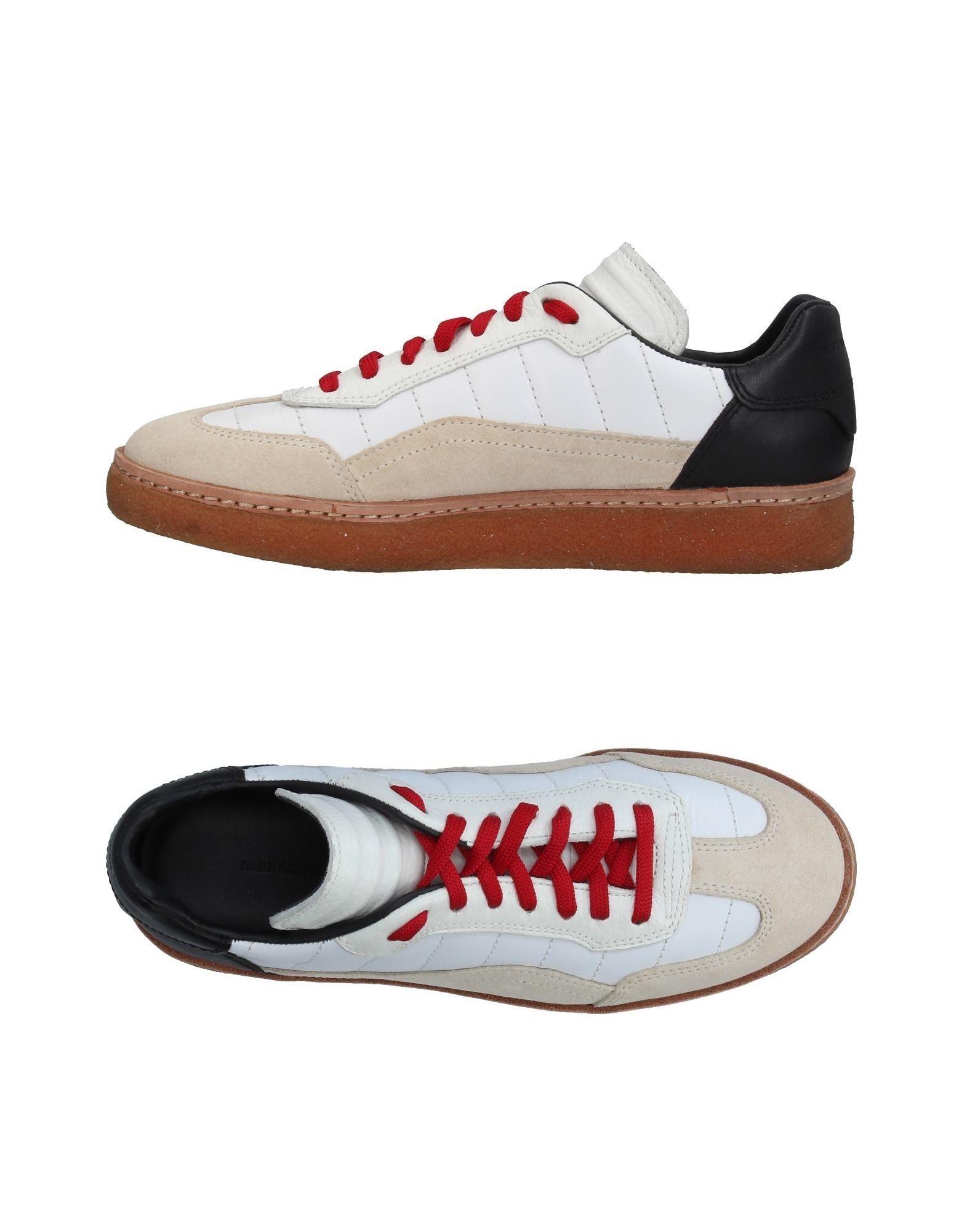 ALEXANDER WANG Низкие кеды и кроссовки