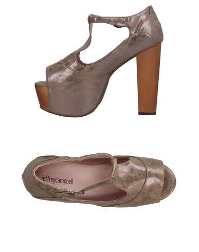 Фото - Женские сандали JEFFREY CAMPBELL цвет голубиный серый