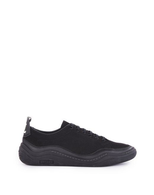 HERRINGBONE CANVAS DIVING SNEAKER - Lanvin