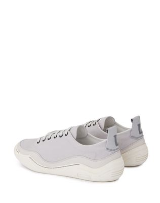 LANVIN HERRINGBONE CANVAS DIVING SNEAKER Sneakers U d