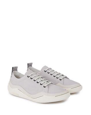 LANVIN HERRINGBONE CANVAS DIVING SNEAKER Sneakers U r