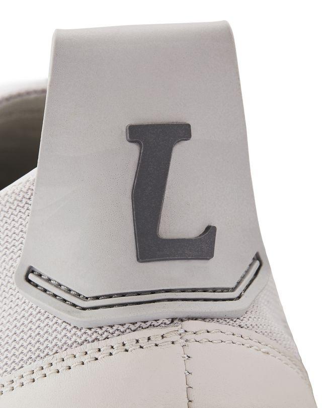 LANVIN HERRINGBONE CANVAS DIVING SNEAKER Sneakers U e