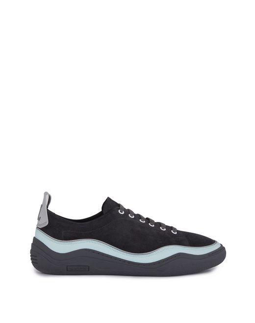 SNEAKERS DIVING IN PELLE DI VITELLO SCAMOSCIATA - Lanvin