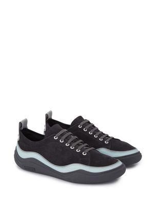LANVIN SUEDE CALFSKIN DIVING SNEAKER Sneakers U r
