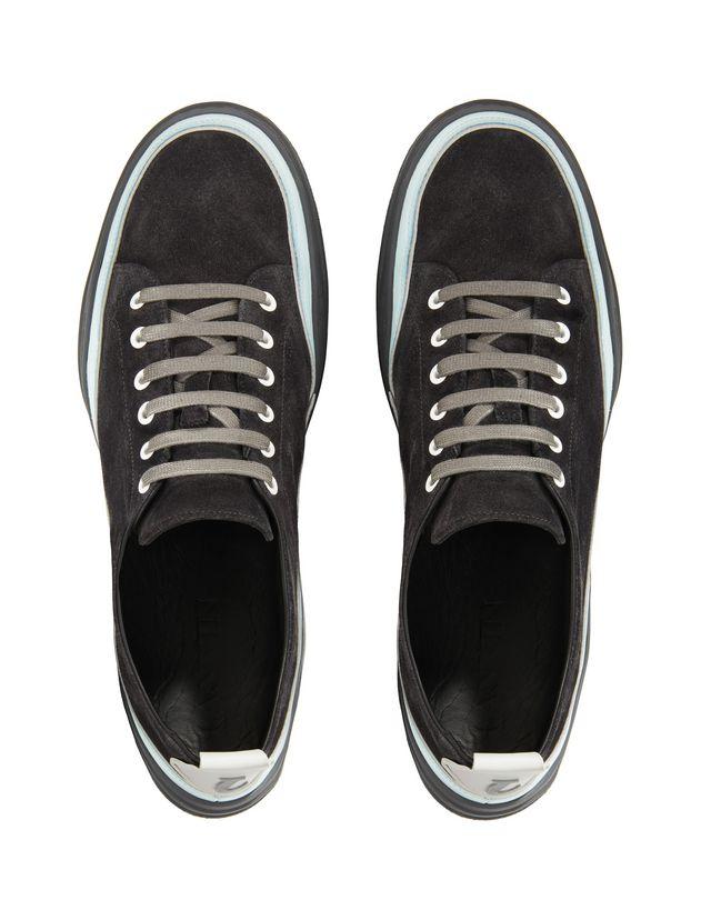 LANVIN SUEDE CALFSKIN DIVING SNEAKER Sneakers U a