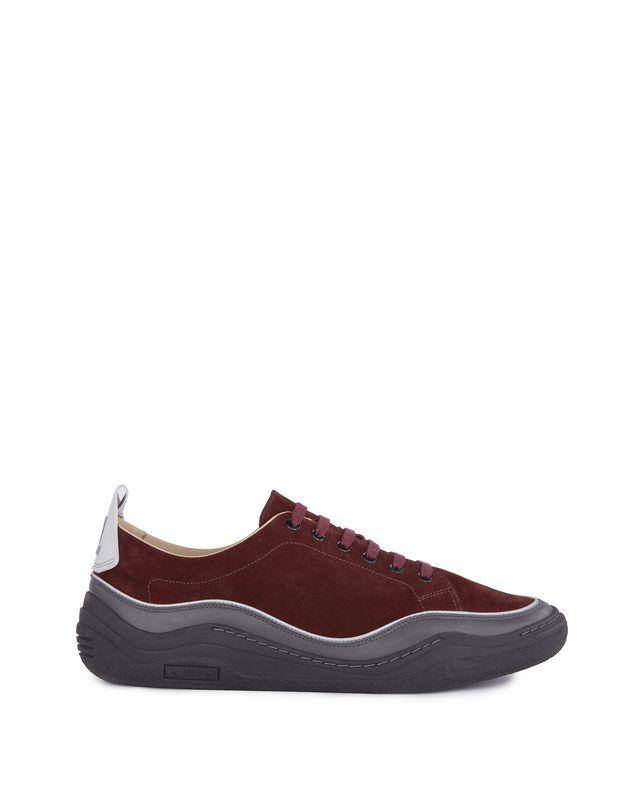 LANVIN SUEDE CALFSKIN DIVING SNEAKER Sneakers U f