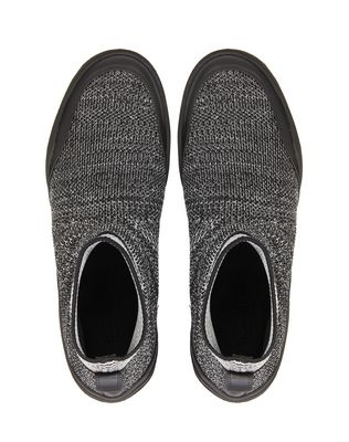 LANVIN KNITTED HIGH-TOP DIVING SNEAKER Sneakers U a