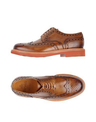 Фото - Обувь на шнурках от BERWICK  1707 коричневого цвета