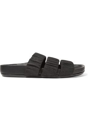 RICK OWENS Textured-leather sandals