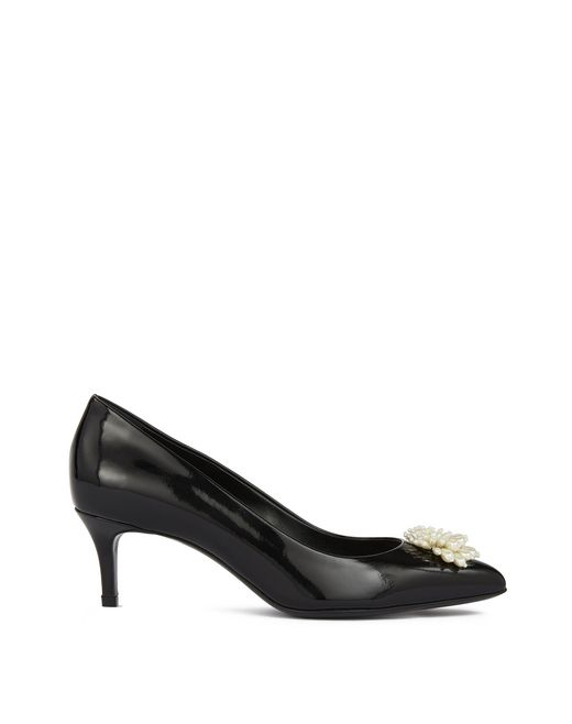 lanvin tassel pump women