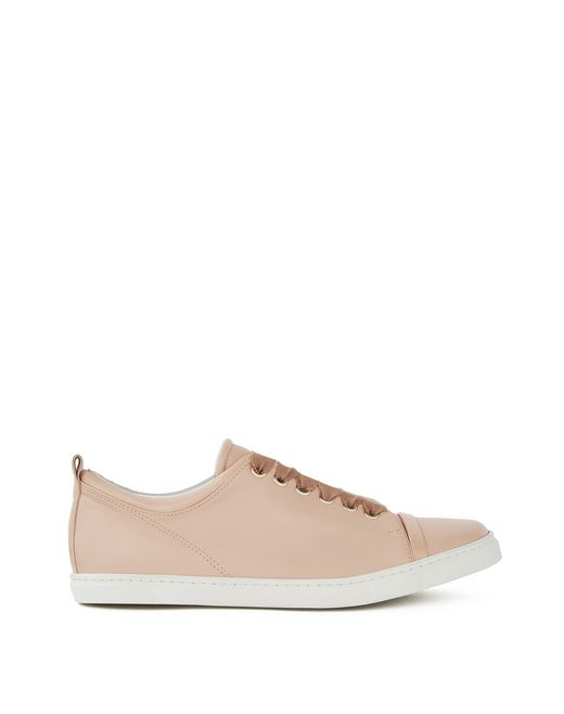 SNEAKERS IN PELLE DI AGNELLO - Lanvin