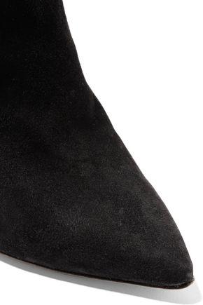 ISABEL MARANT Leyton tasseled suede ankle boots