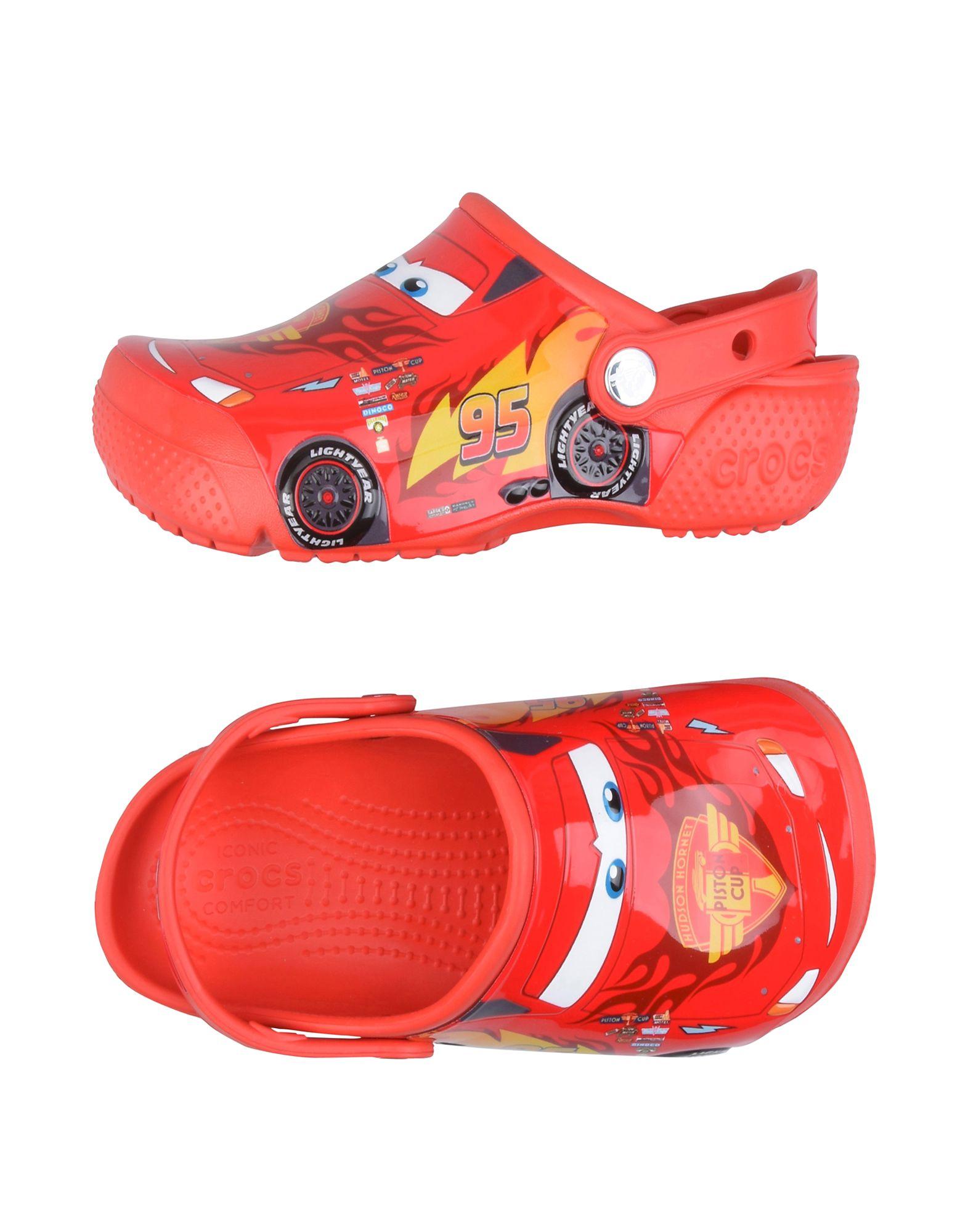 CROCS クロックス ボーイズ サンダル Crocs Fun Lab Cars 3 Clog K レッド