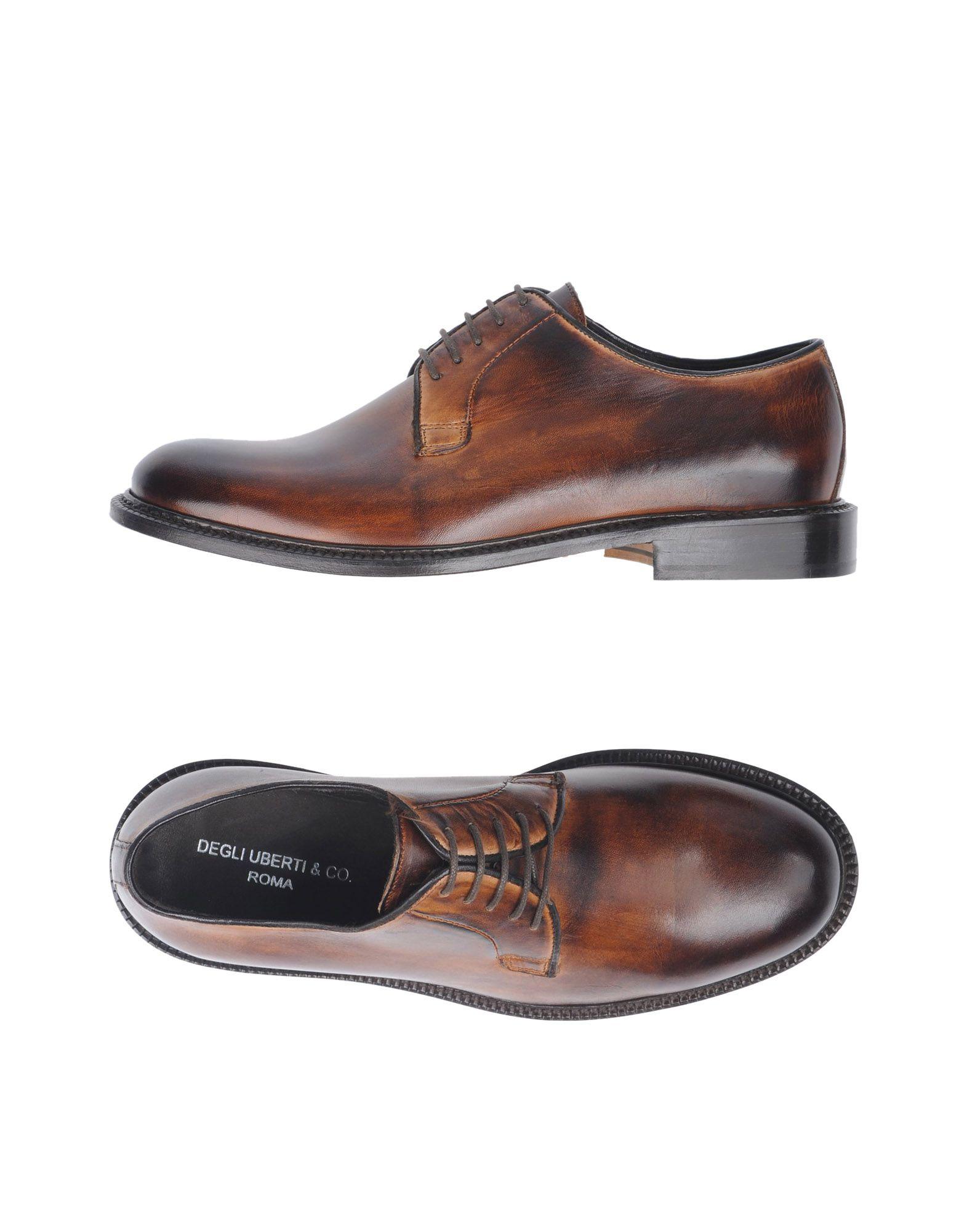 купить DEGLI UBERTI & CO. Обувь на шнурках дешево