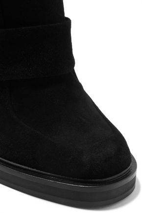 CARVEN Suede ankle boots