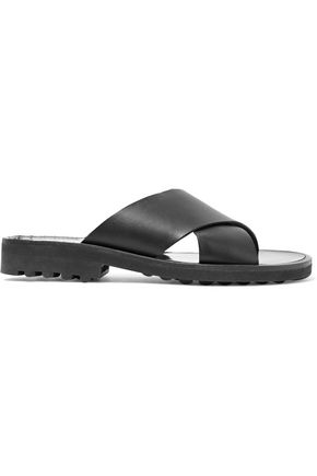 ROBERT CLERGERIE Bart leather sandals