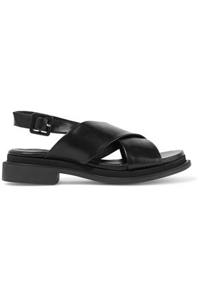 ROBERT CLERGERIE Calientek leather slingback sandals