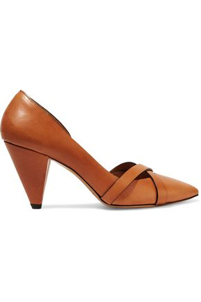 ISABEL MARANT ÉTOILE Pey leather pumps