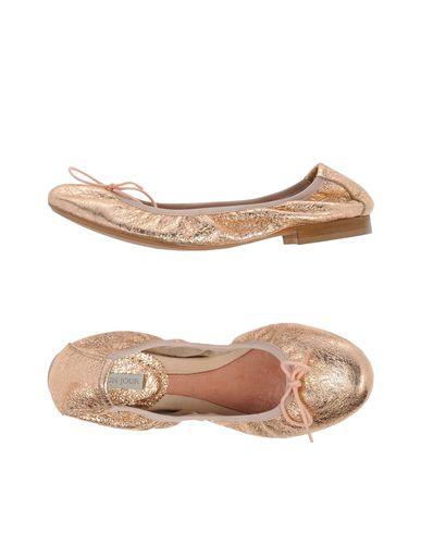 Фото - Женские балетки  цвет медный