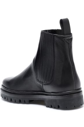 HELMUT LANG Chelsea leather ankle boots