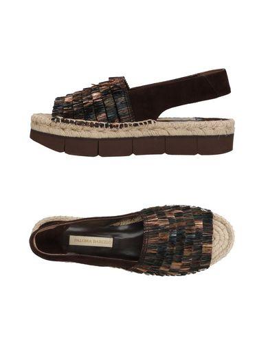 Фото - Женские сандали PALOMA BARCELÓ темно-коричневого цвета