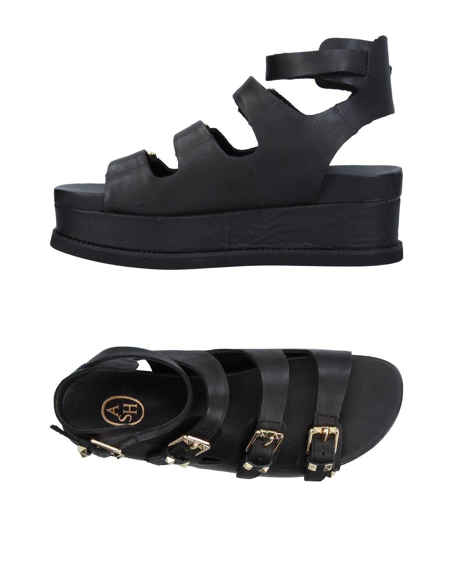 ASH Damen Sandale Farbe Schwarz Größe 13