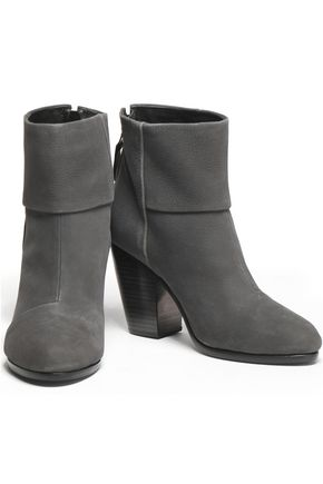 6ff65e8f8ae Leather ankle boots from Rag   Bone in dark grey suede were £313 now £180