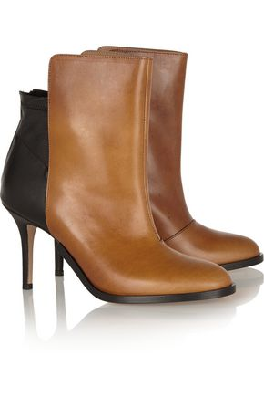 MAISON MARGIELA Two-tone leather ankle boots