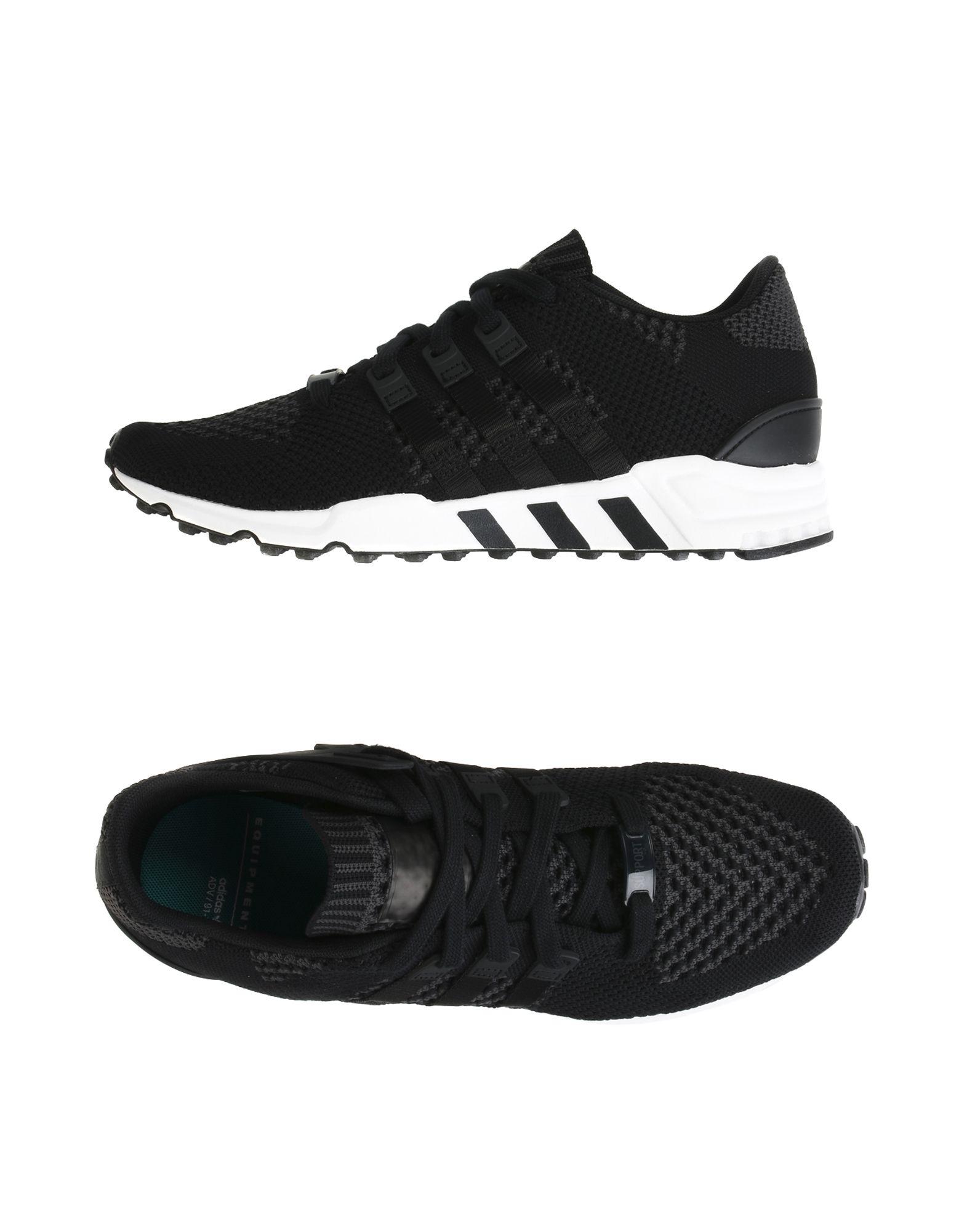 ADIDAS ORIGINALS Herren Low Sneakers & Tennisschuhe Farbe Schwarz Größe 9 - broschei
