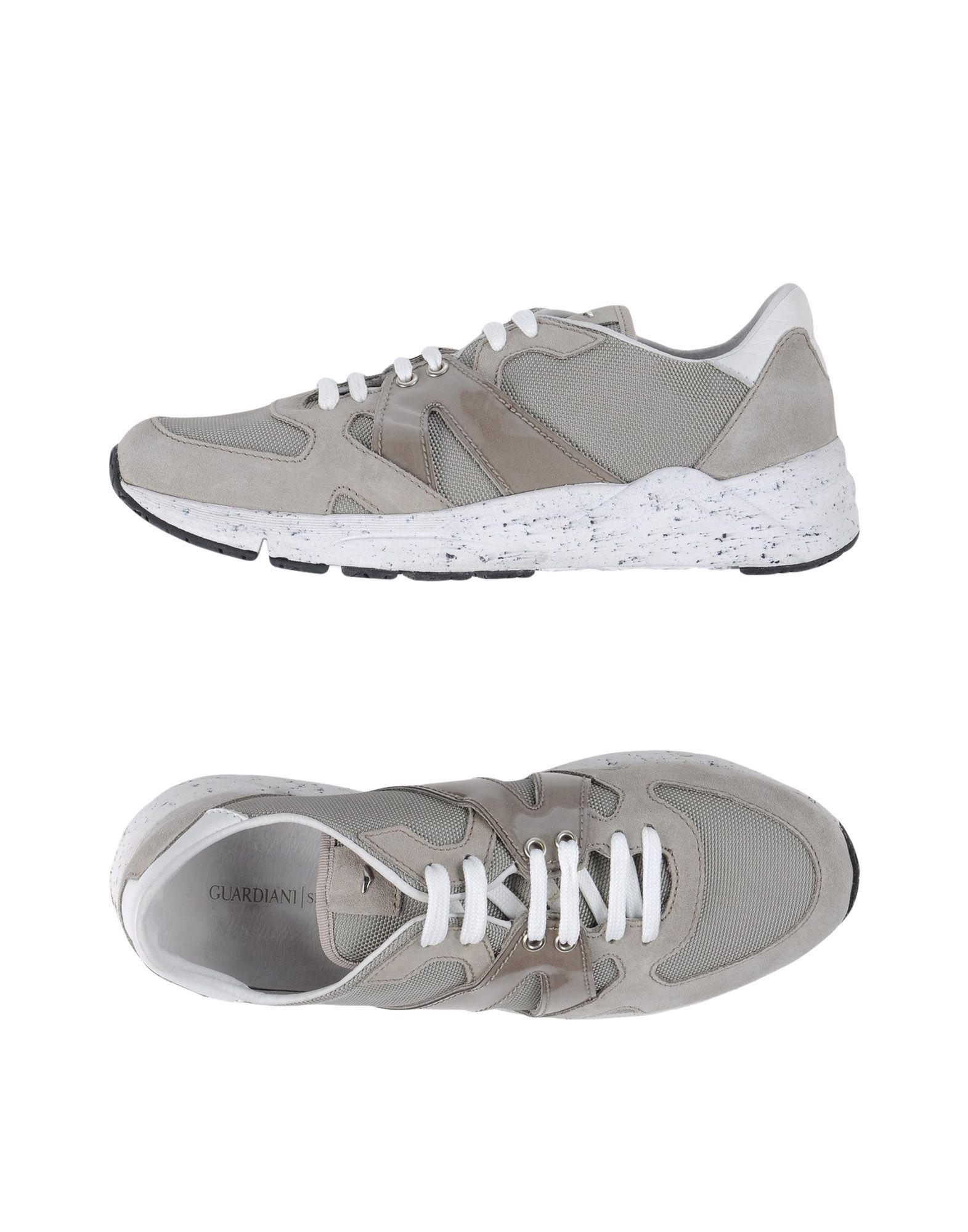 ALBERTO GUARDIANI Herren Low Sneakers & Tennisschuhe Farbe Grau Größe 9 jetztbilligerkaufen