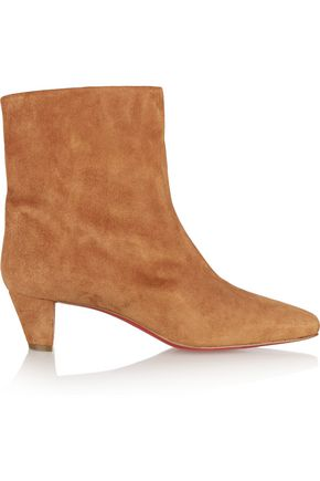 CHRISTIAN LOUBOUTIN Nitapal 45 suede ankle boots