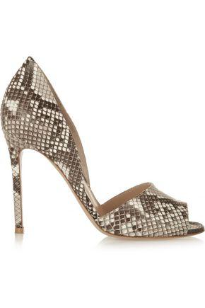 GIANVITO ROSSI Python sandals