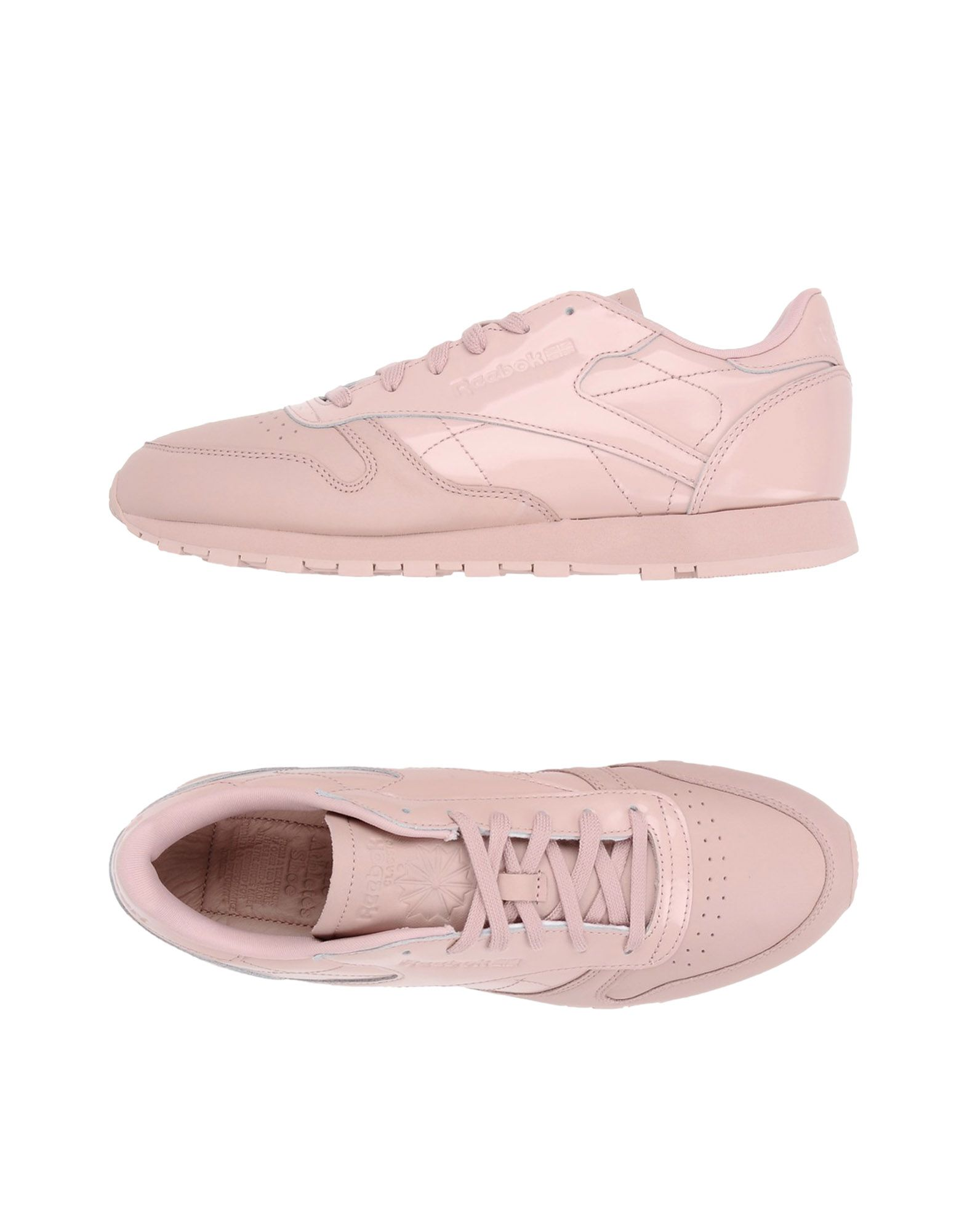 REEBOK Damen Low Sneakers & Tennisschuhe Farbe Rosa Größe 9 - broschei