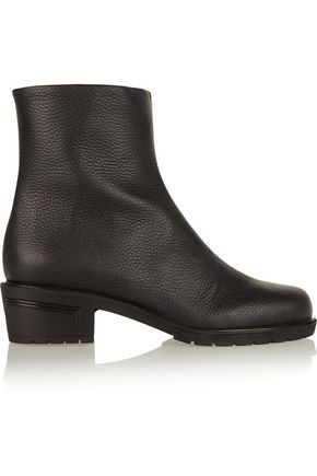 GIUSEPPE ZANOTTI Kurt textured-leather ankle boots